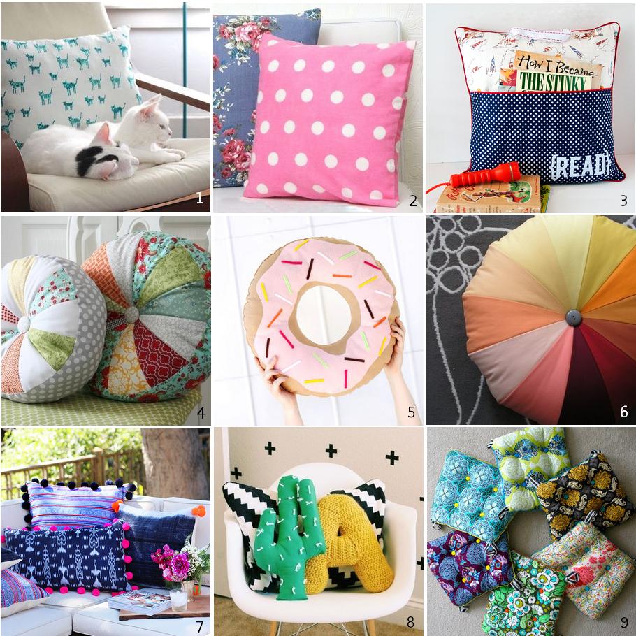mozaika poduszki
